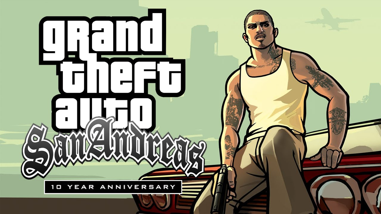 Image result for gta sa 10th anniversary logo