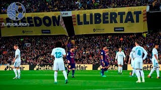 TREMENDA TENSION POR EL PROXIMO CLASICO MADRID VS BARCELONA