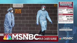 New York City hospitals on the front lines of coronavirus | Deadline | MSNBC