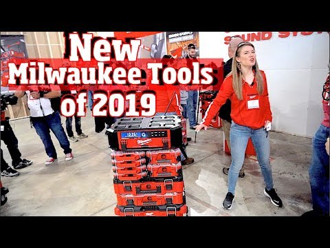 New Milwaukee Power Tools coming in 2019