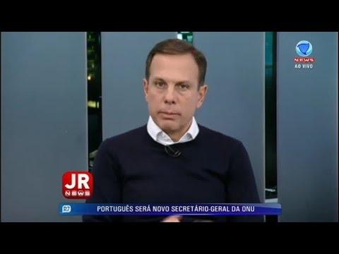 Heródoto Barbeiro recebe o prefeito eleito de São Paulo, João Dória