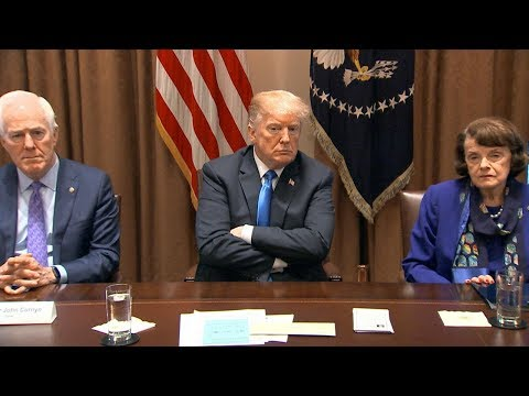 President Donald Trump meets with members of Congress to discuss school safety | ABC News