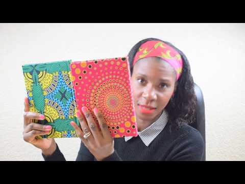 Handmade African print inspired products!!!