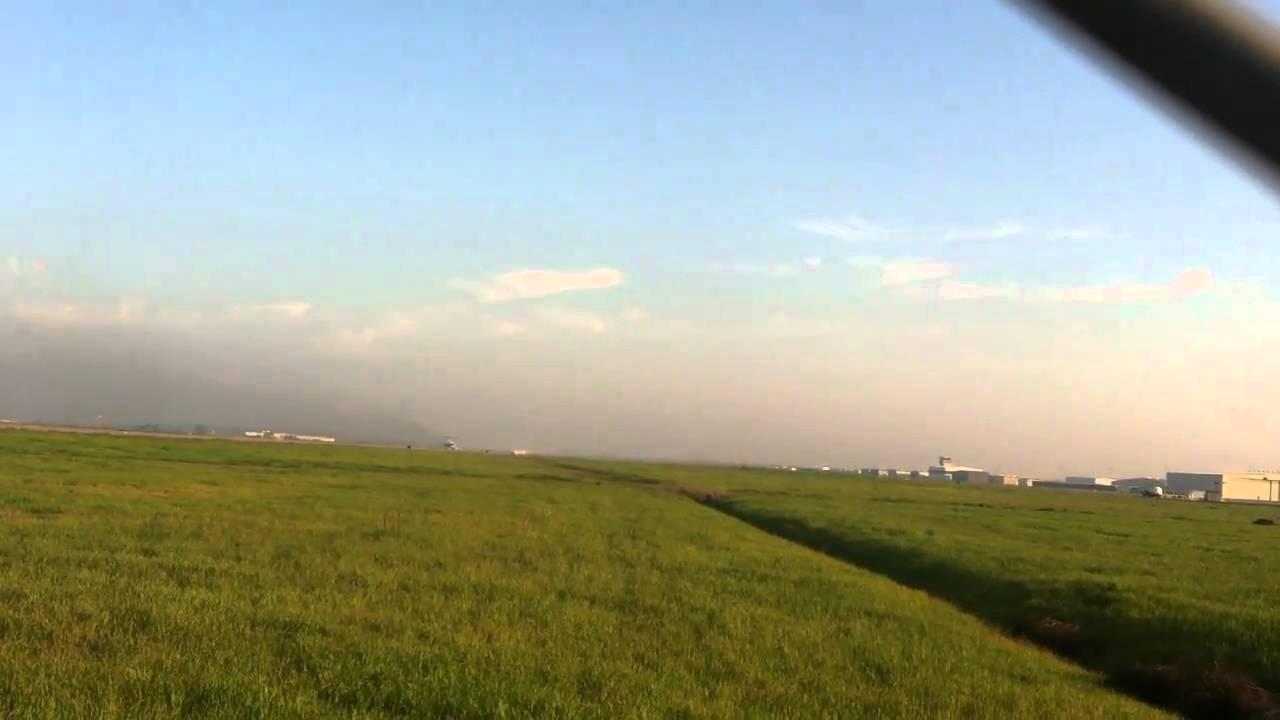 Allegiant Airlines Takeoff In Stockton Ca Youtube