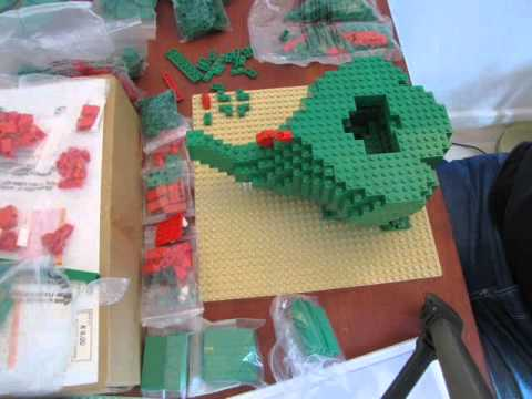 Lego dragon 3724 Stopmotion