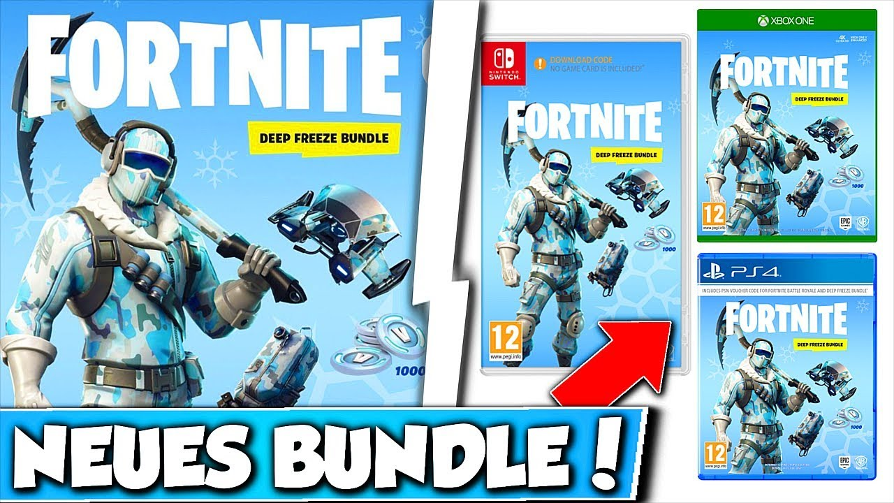 Neues Deep Freeze Bundle In Fortnite Neues Bundle Fur Alle