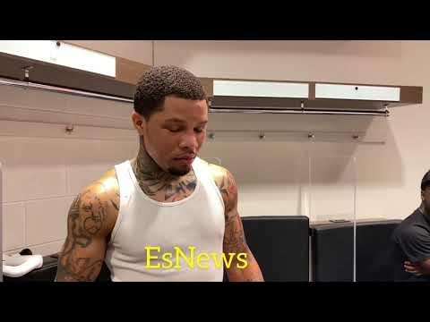 What did Gervonta tell Barrios after the fight