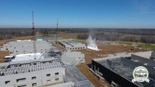 New Collierville High School Takes on Look of Small City