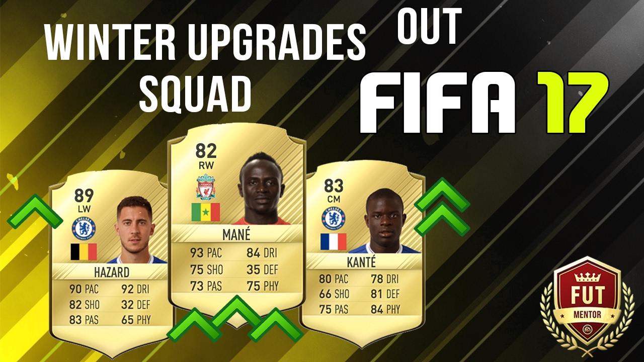 Fifa 17 Upgrades Winter