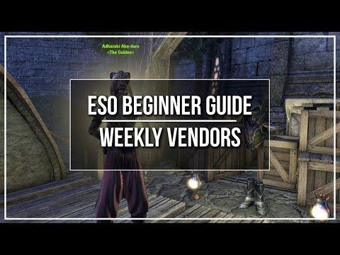 ESO Weekly Vendor Guide