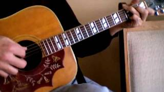 Kathy's Song Tutorial - Paul Simon Acoustic Cover-Pete Crawford