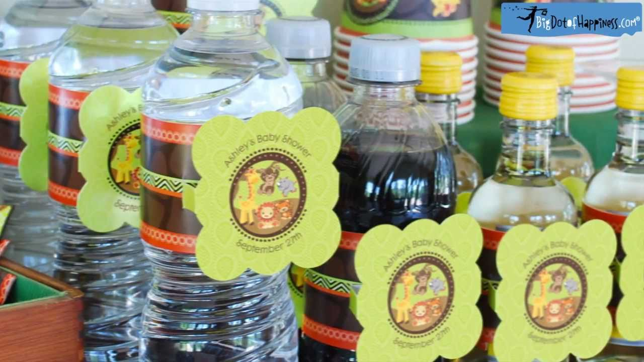 Personalized Baby Shower Water Bottle Labels Big Dot Of Happiness