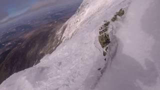 Mount Lafayette and Franconia Ridge winter hike