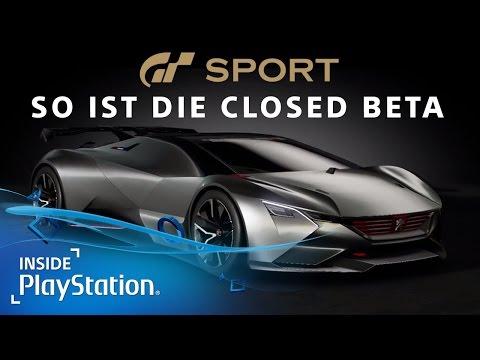 Gran Turismo Sport: 4K Gameplay aus der Closed Beta! | GT Sport [PS4]