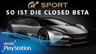 Gran Turismo Sport: 4K Gameplay aus der Closed Beta! | GT Sport [PS4]