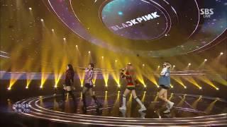 BLACKPINK    '휘파람WHISTLE' 0904 SBS Inkigayo