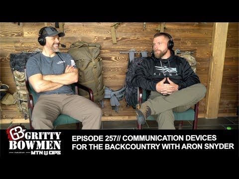 EPISODE 257: Communication Devices For The Backcountry With Aron Snyder