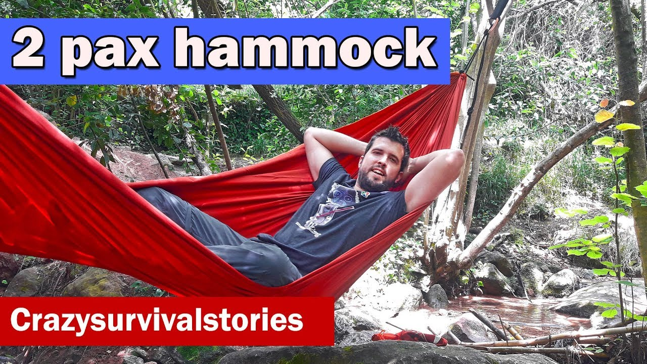 Hammock Quechua Decathlon Comfortable Two Person On Test 25 Youtube