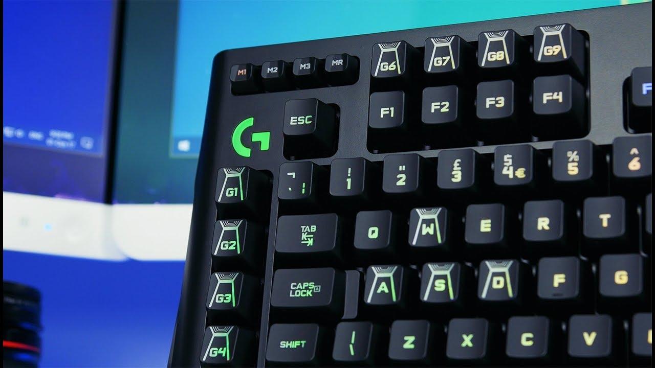 Logitech G910 Orion Spectrum Gaming Keyboard Review (4K)