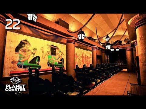 Planet Coaster | Universal Studios Hollywood🎬 | Ep.22 Revenge Of The Mummy - Layout & Load Station