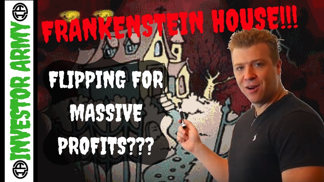 Flipping FRANKENSTEIN HOUSES for Massive Profits???