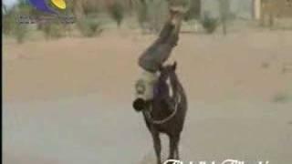 استعراض رائع بالخيل- السعودية Great Horse Riding Skills- KSA