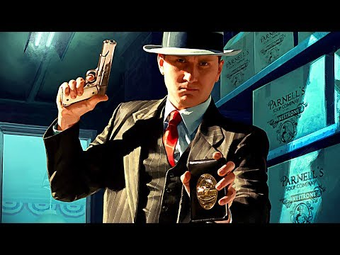 L.A. NOIRE Trailer 4K (2017) PS4 / Xbox One / Switch