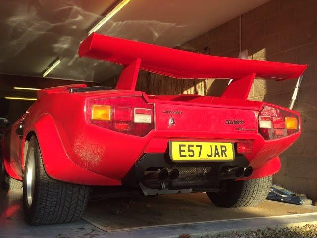 Harry Metcalfe Shows Off His Lamborghini Countach Autoblog