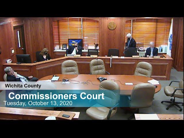 Commissioners Court 10/13/2020 Part 2
