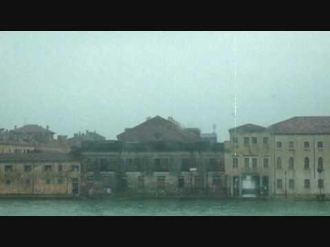Venice - Giudecca shore in a raining day
