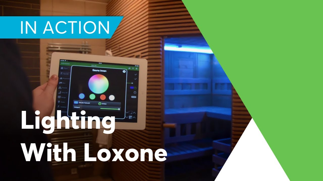 Lighting With Loxone Youtube