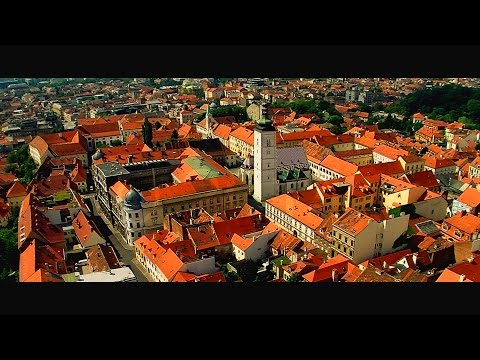 Zagreb from the air