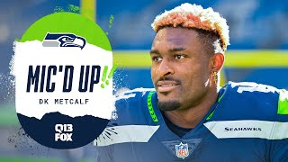 DK Metcalf Mic'd Up vs 49ers | Seahawks Saturday Night