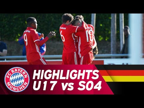 FC Bayern – FC Schalke 04 3:0 | Highlights | U17 Halbfinale Hinspiel