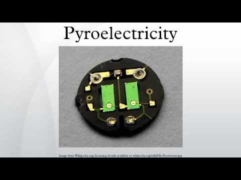 Pyroelectricity