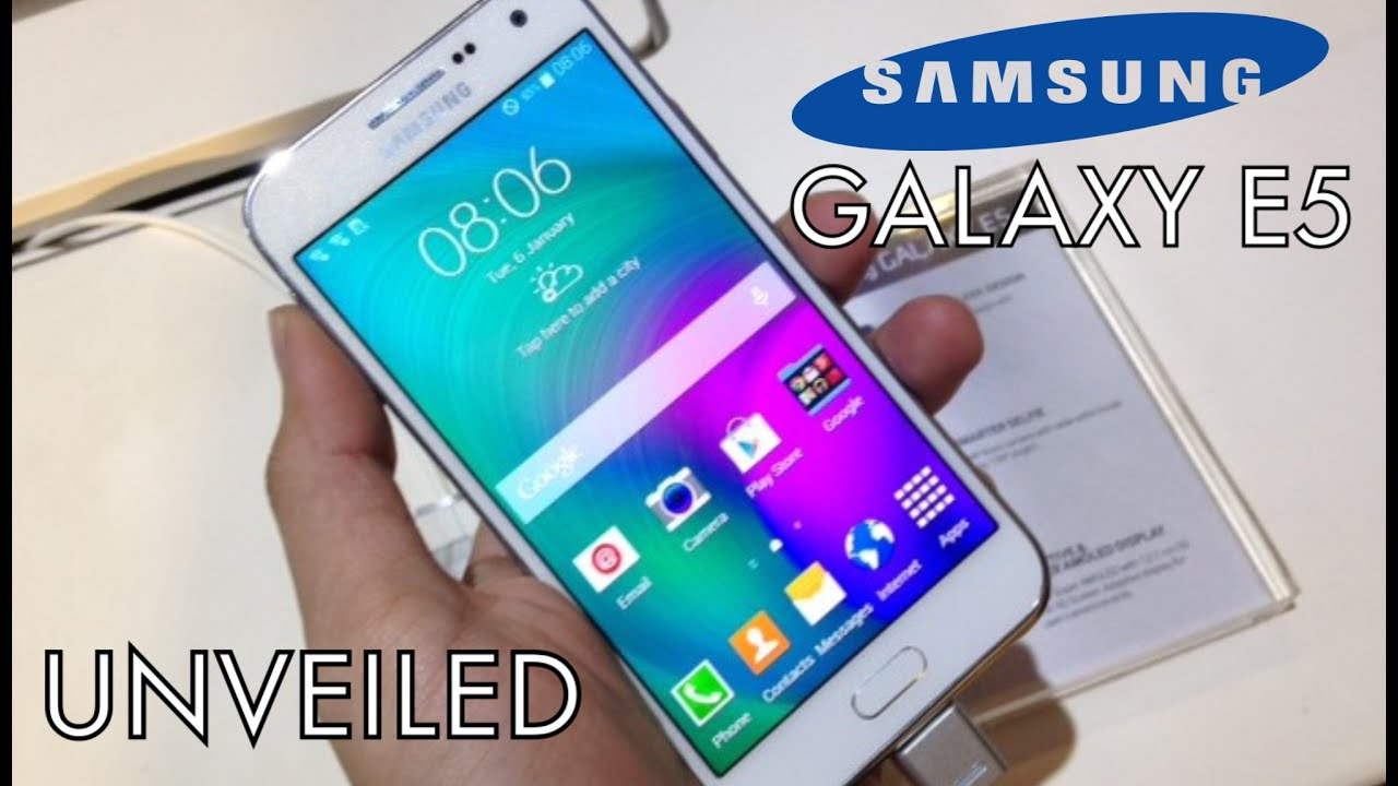 NEW Samsung Galaxy E5 Review - Specs & Features HD - YouTube