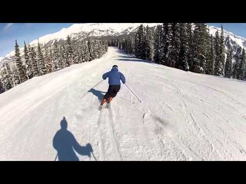 Skiing Telluride's See Forever