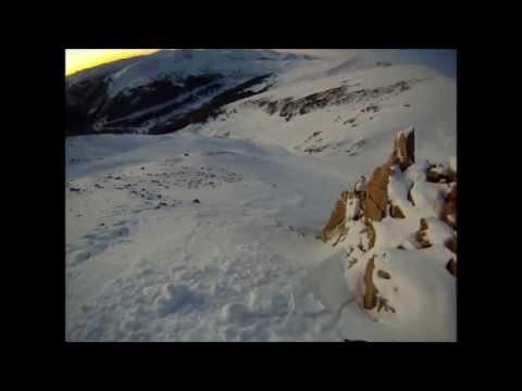 Aaron Hill, Snowboarding colorado backcountry