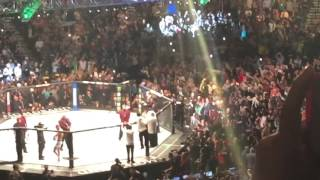 Conor McGregor UFC 196 entrance