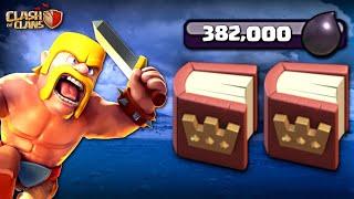 2x BOOKS of HEROES! 382,000 DARK ELIXIR! TH11 Let