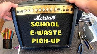E-Waste Pick Up Adventures - School Laptops Huge Haul 100+