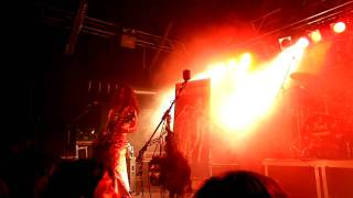 Debauchery Live- München Backstage 2011- Chainsaw Masturbation