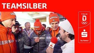 Skisprungfieber: Silber für deutsches Team um Andreas Wellinger | Team Deutschland