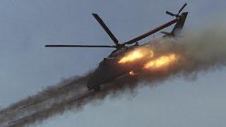 Крым Вертолеты Ми-24 Блокируют взлет вертолета украинских журналистов