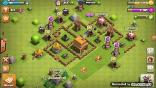 Clash of clans ep 2 atacando dessa vez foi foda