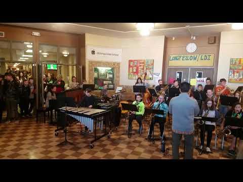 Bye Bye Blackbird played by Longfellow/LDI Jazz Band