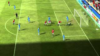 FIFA 12 HD PC Gameplay - Rooney Goal VERY LIKE at Real Life