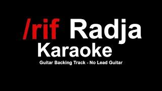 /rif - radja No Guitar | Karaoke