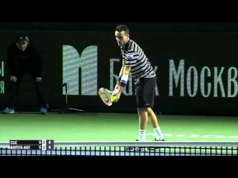 Cilic Overcomes Bautista Agut In Moscow 2015 Final