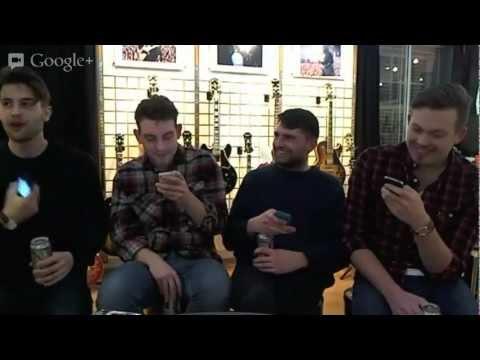 Live Hangout with Lower Than Atlantis - Fan Q&A
